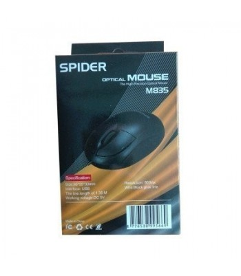SOURIS OPTICAL MOUSE SPIDER...
