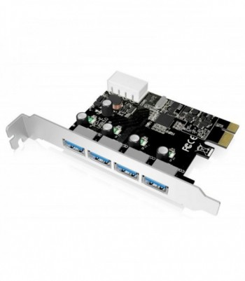 Carte PCI Express 4 Ports...