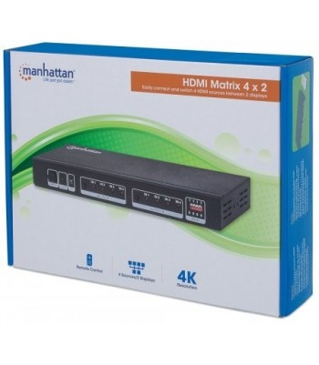 Switch HDMI Matrix 4 x 2